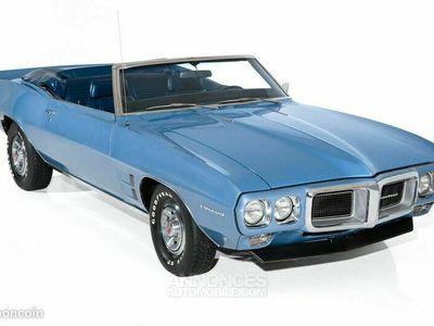 occasion Pontiac Firebird Cabriolet 1969 - V8 350Ci - Boite Manuelle