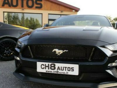 occasion Ford Mustang GT v8 5.0 fastback pack premium 980kms noir systeme audio ba