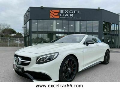 occasion Mercedes S63 AMG CLASSEAMG CABRIOLET 4-MATIC
