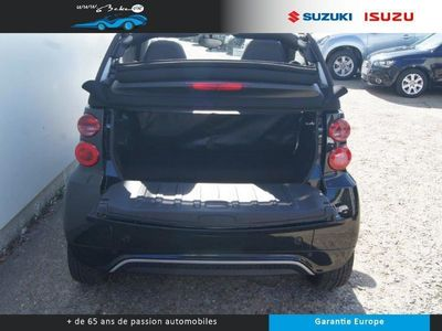 occasion Smart ForTwo Cabrio Fortwo 71ch Mhd Passion Softouch