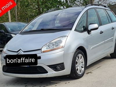 occasion Citroën Grand C4 Picasso 2010 - Gris - 1.6 hdi 110ch 7places