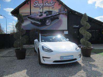 occasion Tesla Model 3 2020 - Blanc - STANDARD