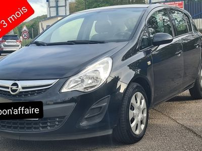 occasion Opel Corsa 2013 - Noir - 1.2i twinport 86ch GPS anne 2013