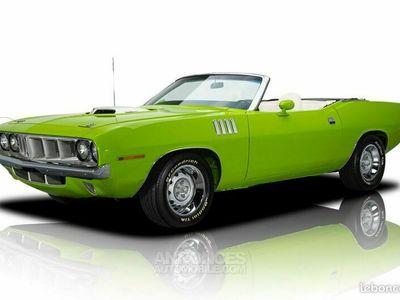 """occasion Plymouth Barracuda Cabriolet 1970 (Tribute 71"""") - V8 426Ci Hemi- Boite Manuelle"""