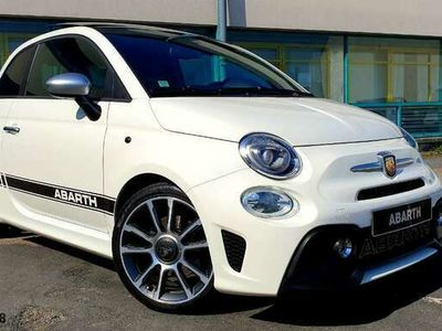 """occasion Abarth 595 Turismo 165 CUIR NAV 7"""" TOIT OUVRANT STICKERS SUPERBE"""