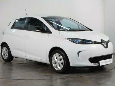 occasion Renault Zoe Life Charge Rapide 5 portes \u00c9lectrique Automatique Blanc