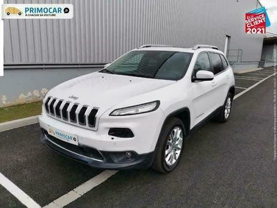 occasion Jeep Cherokee 2.2 MultiJet 200ch Limited Advanced Technologies Active Drive I BVA S/S