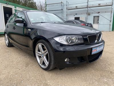 occasion BMW 130 Serie 1 2006 - Noir - i GPS CUIRE TOIT OUVRANT