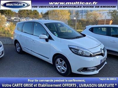 occasion Renault Grand Scénic III 1.5 DCI 110CH ENERGY BUSINESS ECO² EURO6 7 PLACES 2015