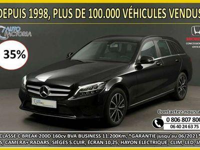 occasion Mercedes C200 D SW 160CVBVA BUSINESS*GPS+CAM+RADARS+S.CUIR*-35%