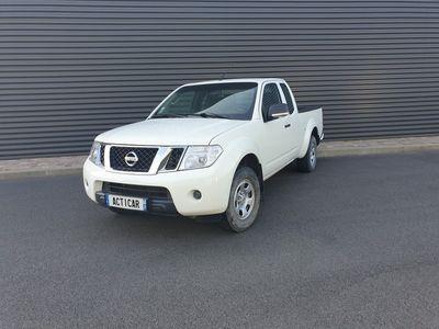 occasion Nissan Navara - 2 KING-CAB 2.5DCI 190 4x4 - Blanc Métallisé