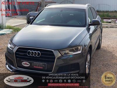 occasion Audi Q3 2018 - Gris Métallisé - 2.0 TDI 150 S-TRONIC 7 S.LINE