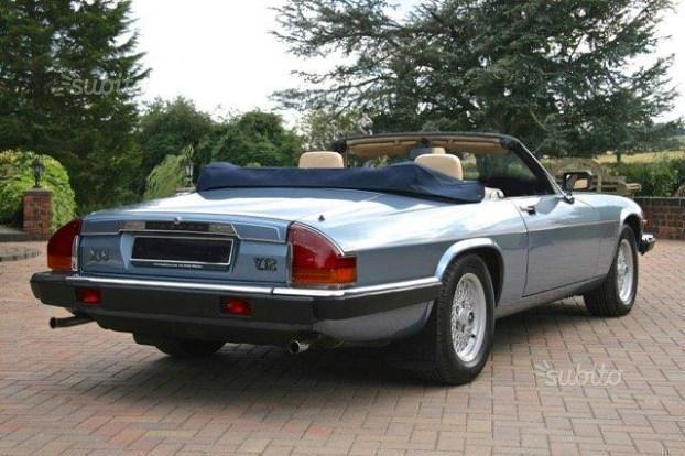 sold jaguar xjs v12 cabrio 1987 used cars for sale. Black Bedroom Furniture Sets. Home Design Ideas