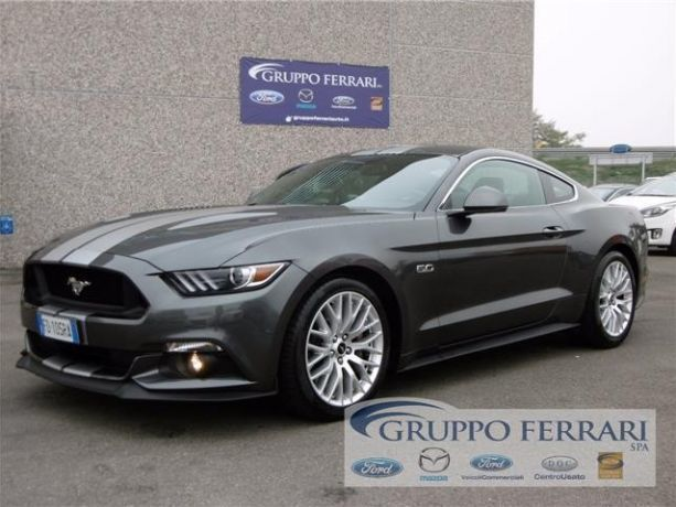 usato fastback 5 0 v8 tivct automatica ford mustang gt 2016 km in parma pr. Black Bedroom Furniture Sets. Home Design Ideas