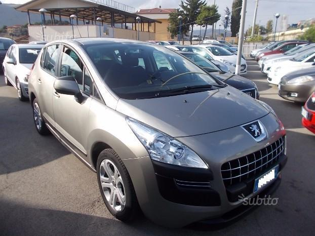 sold peugeot 3008 3008 1 6 e hdi 1 used cars for sale. Black Bedroom Furniture Sets. Home Design Ideas