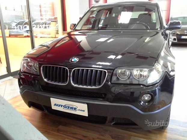 usata BMW X3 2.0d cat Futura PELLE - NAVI