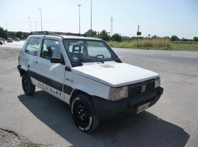 Sold fiat panda 4x4 4x4 sisley used cars for sale for Panda 4x4 sisley scheda tecnica