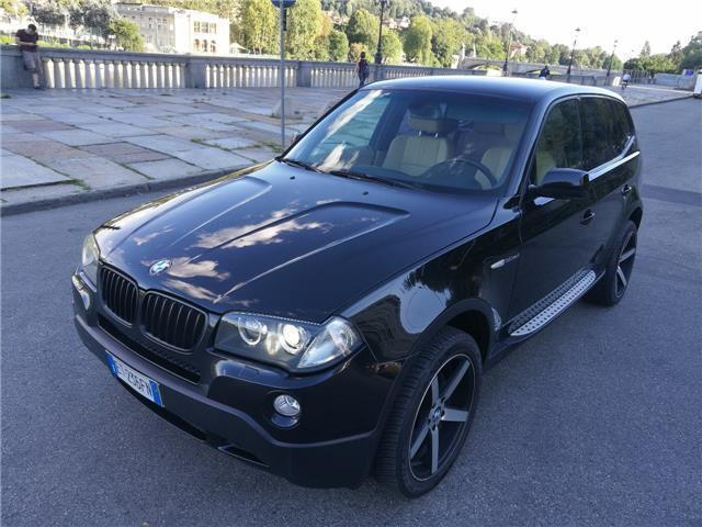 venduto bmw x3 3 0 sd futura biturbo auto usate in vendita. Black Bedroom Furniture Sets. Home Design Ideas