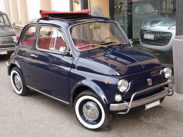 a082df6fa00e1 Venduto Fiat 500L epoca - restaurata - - auto usate in vendita