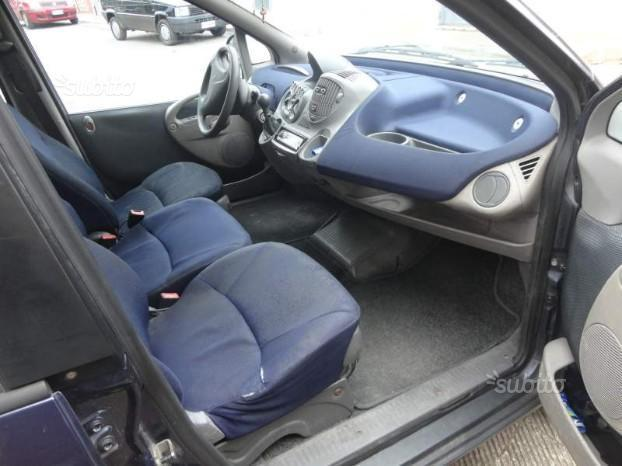 sold fiat multipla 1 9 jtd 105cv used cars for sale autouncle. Black Bedroom Furniture Sets. Home Design Ideas