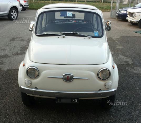 """Sold Fiat 500 F """"8 Bulloni"""""""