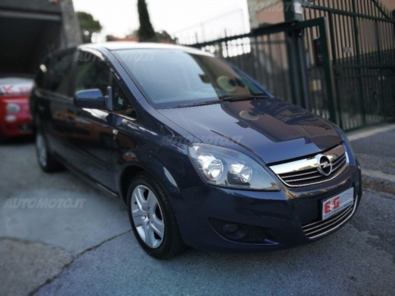 sold opel zafira 1 7 cdti 125cv ed used cars for sale. Black Bedroom Furniture Sets. Home Design Ideas