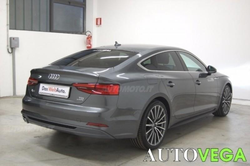 Audi a5 tdi usato bianco 12