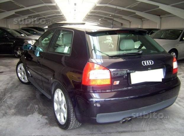 sold audi s3 2000 blu con intern used cars for sale autouncle. Black Bedroom Furniture Sets. Home Design Ideas