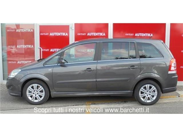 usato 1 6 16v ecom 94cv enjoy opel zafira 2009 km in conversano bar. Black Bedroom Furniture Sets. Home Design Ideas