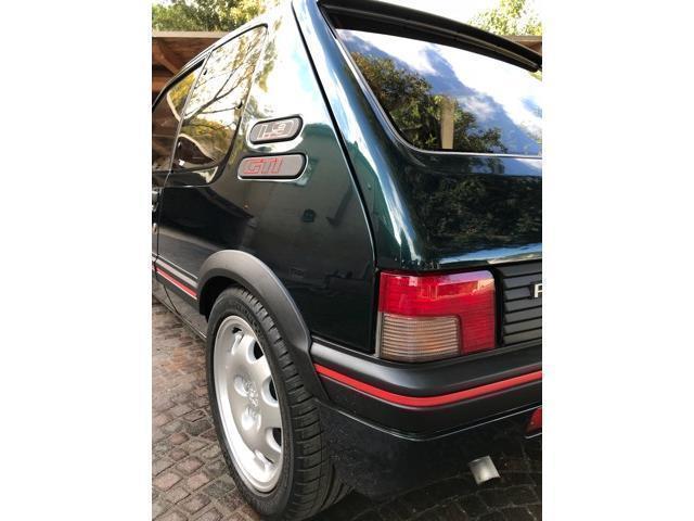 Sold peugeot 205 1 9 3 porte gti used cars for sale for Porte 205 gti
