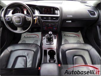 Audi a5 tdi usato bianco 7