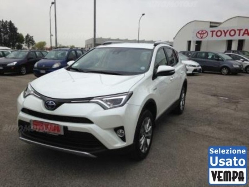toyota rav4 hybrid usata 37 toyota rav4 hybrid in vendita. Black Bedroom Furniture Sets. Home Design Ideas