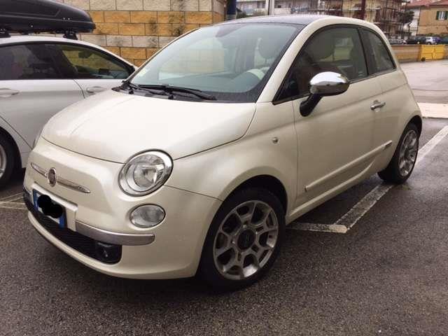 Venduto Fiat 500 Lounge Bianco Perlat Auto Usate In Vendita