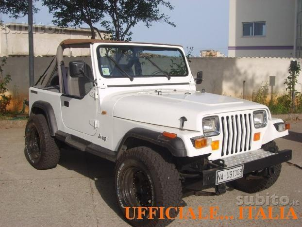 sold jeep wrangler yj 2 5 benzina used cars for sale autouncle. Black Bedroom Furniture Sets. Home Design Ideas