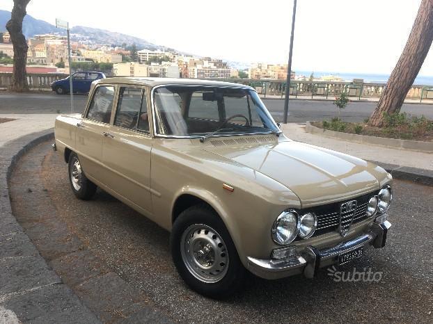 sold alfa romeo giulia super 1 3 1 used cars for sale. Black Bedroom Furniture Sets. Home Design Ideas