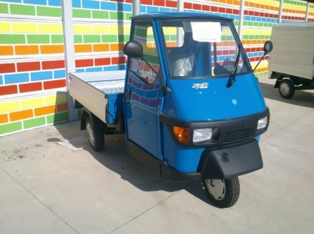sold piaggio ape 50 pianale fisso used cars for sale. Black Bedroom Furniture Sets. Home Design Ideas