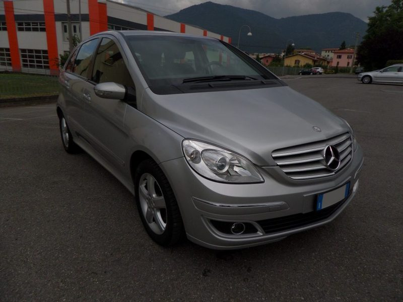 usato chrome mercedes b170 2007 km in varese varese. Black Bedroom Furniture Sets. Home Design Ideas