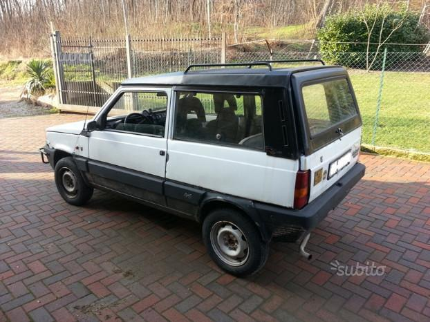 sold fiat panda 4x4 rock moretti 4 used cars for sale autouncle. Black Bedroom Furniture Sets. Home Design Ideas