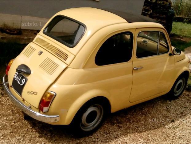 Sold fiat 500 d 39 epoca used cars for sale autouncle for Moquette fiat 500 epoca