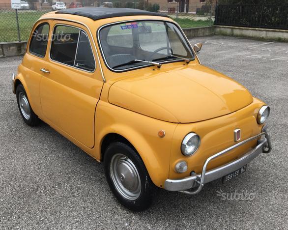 Venduto Fiat 500l Giallo Positano Pri Auto Usate In Vendita
