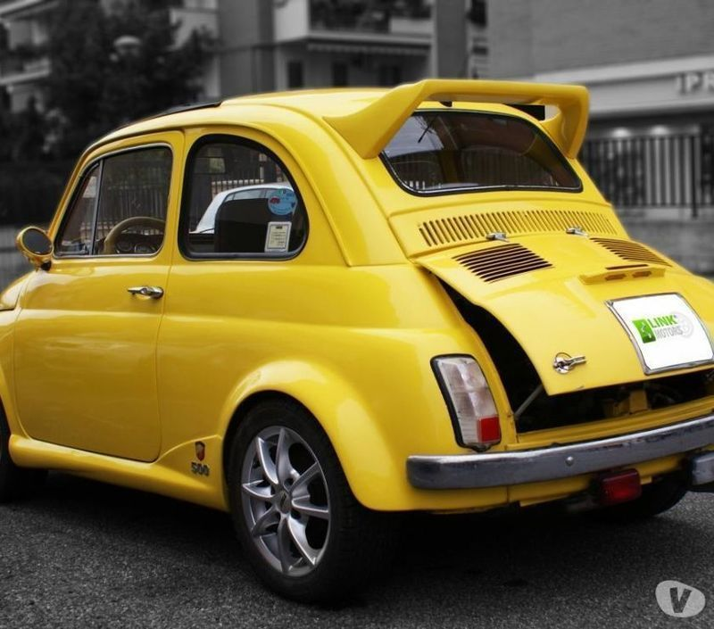 1971 Fiat 500 For Sale: Sold Fiat 500 Abarth L 1971, Alles.