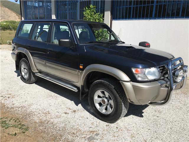 sold nissan patrol gr 3 0 td di 5 used cars for sale. Black Bedroom Furniture Sets. Home Design Ideas