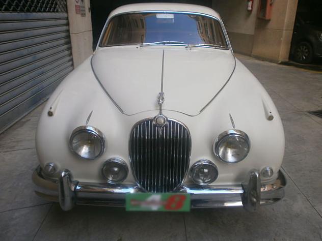 venduto jaguar mk ii 3 8 1960 auto usate in vendita. Black Bedroom Furniture Sets. Home Design Ideas