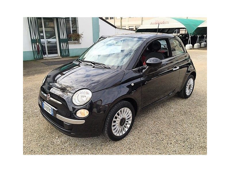 sold fiat 500 1 2 lounge tetto blu used cars for sale. Black Bedroom Furniture Sets. Home Design Ideas