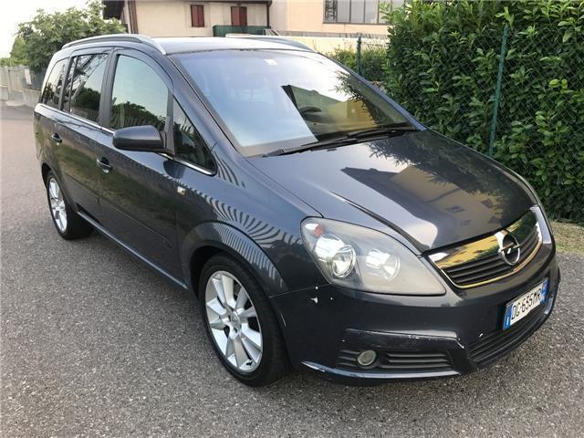 sold opel zafira 1 9 cdti 120cv co used cars for sale. Black Bedroom Furniture Sets. Home Design Ideas