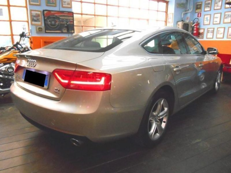Audi a5 tdi usato bianco 14