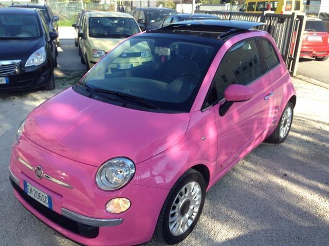 sold fiat 500 1 2 rosa barbie used cars for sale. Black Bedroom Furniture Sets. Home Design Ideas