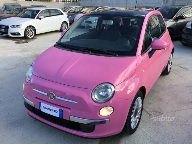 Venduto Fiat 500 Rosa Barbie Edizione Auto Usate In Vendita