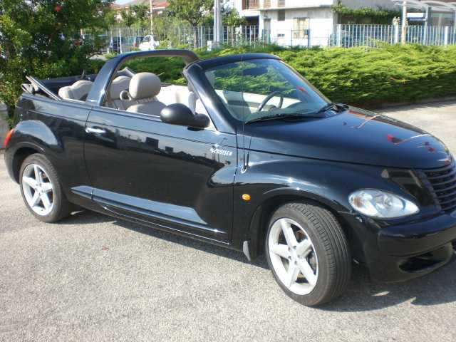 usato cabrio 2 4 turbo chrysler pt cruiser 2006 km 106. Black Bedroom Furniture Sets. Home Design Ideas