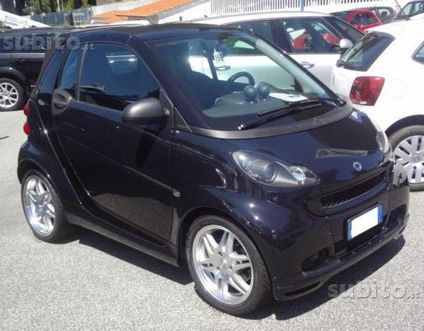 sold smart fortwo cabrio 1000 72 k used cars for sale. Black Bedroom Furniture Sets. Home Design Ideas